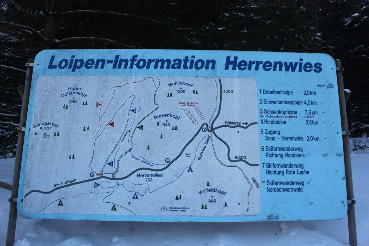 Herrenwies Loipen-Information